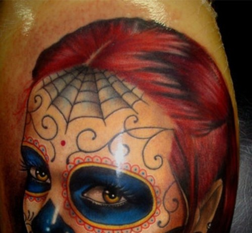 3D Face Tattoo