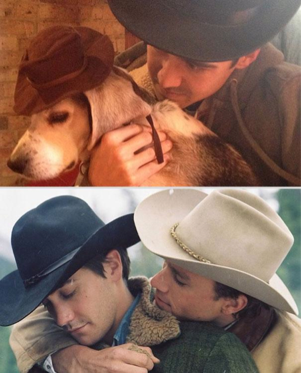 Brokeback Mountain Reenacted