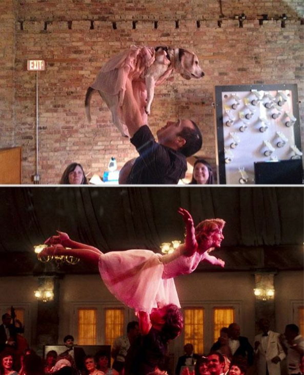 Dirty Dancing Reenacted