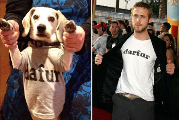 Ryan Gosling Reenacted