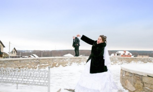 Laughable Wedding Picture