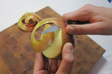 Peel an Apple