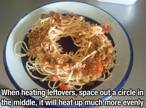 Leftovers - life hack