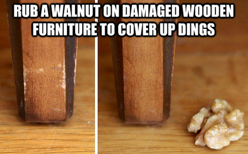Walnut - life hack