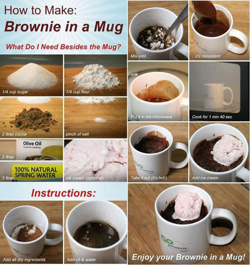 Brownie - life hack