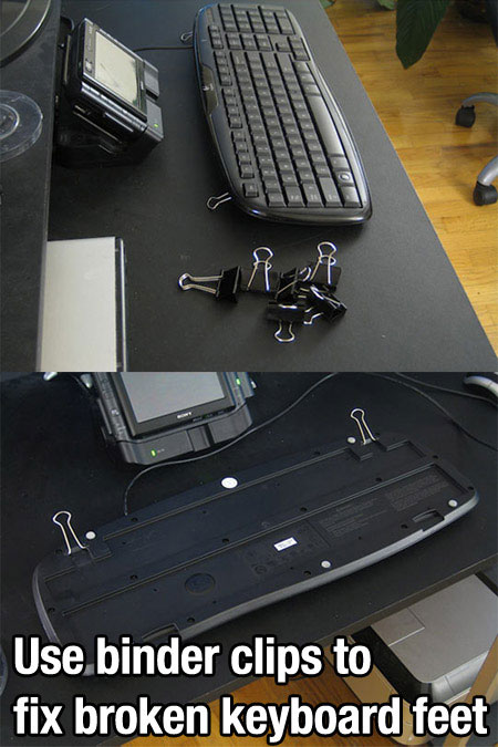 Keyboard - life hack