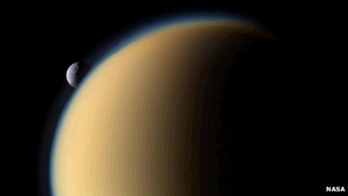 Titan Saturn Moon (1)