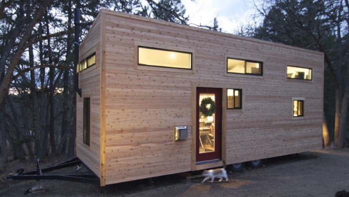 the idea is in essence to live in a very small but very cleverly laid out purpose built house so they built one check it out its veeeeeery cool - Smallest House In The World 2014