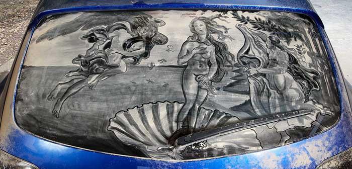 Dirty Car Art (2)