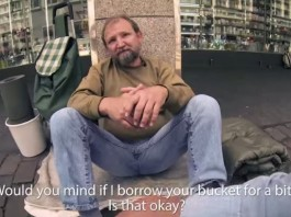 Homeless Bucket Song