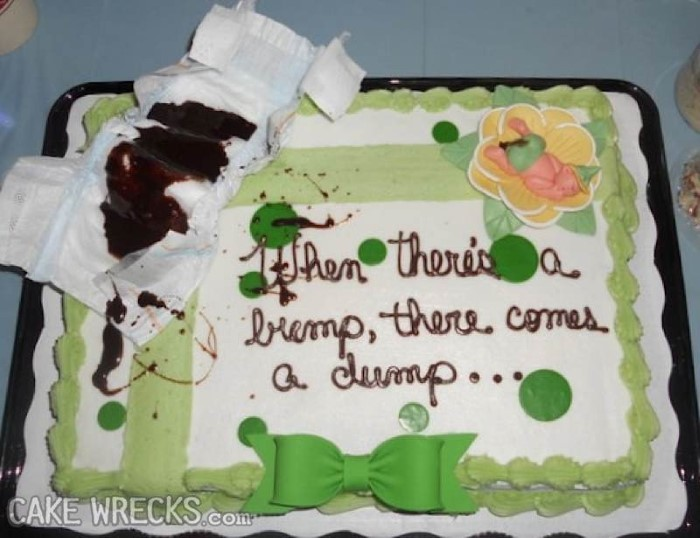 Gross Baby Shower Cake Images : This Will DEFINITELY Put You Off Your Dinner... BoredomBash