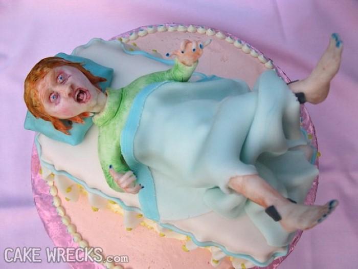 worst baby shower cakes for pinterest