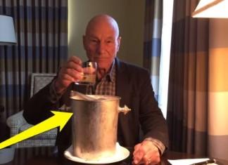 Ice Bucket Patrick Stewart
