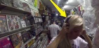 Record shop joke