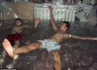 Ukrainian Living Room Swimming Pool