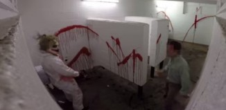 Chainsaw Massacre Prank In The Bathroom TwinzTV