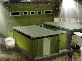 Zombie Apocalypse, Zombie fort, Zombie cabin, Zombie shed, Zombie Fortification Cabin