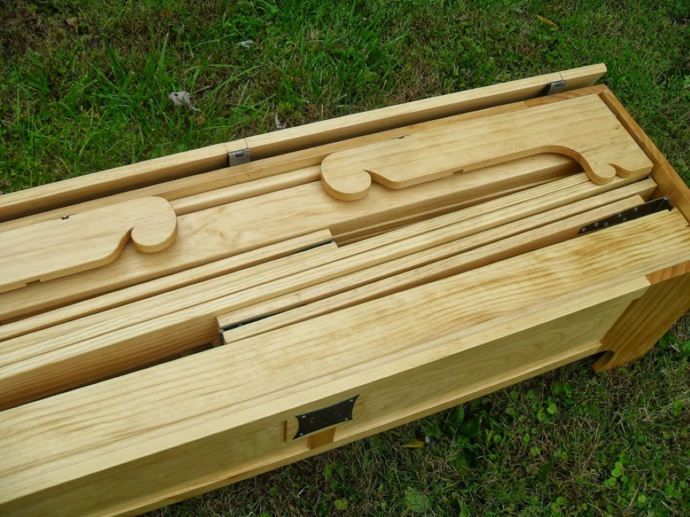 folding bed this amazing fold up bed can be stored in a small wooden box