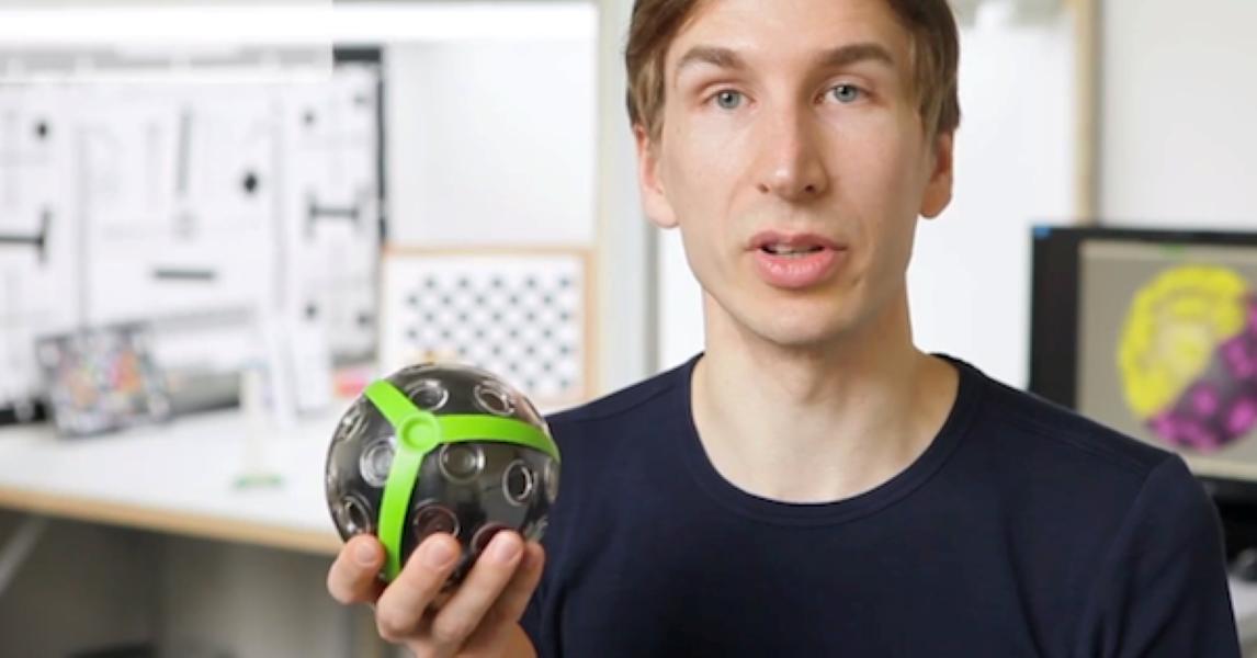 Panomo Ball Camera