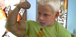 Boy With Muscles