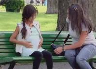 Pregnant Little Girl Prank
