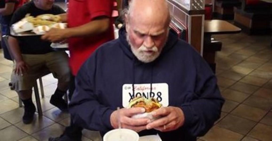 Man Eats Dog Food Throws Up