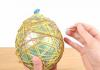 balloon egg string