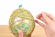 balloon egg string