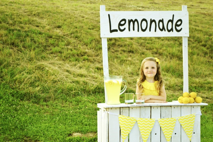 hosting a lemonade stand within a A selection of very joyful lemonade stands the classic look of a wooden lemonade stand the lemonade bar offers you sufficient space to serve your drink within.