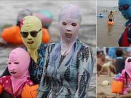 chinese sun bathers thumb