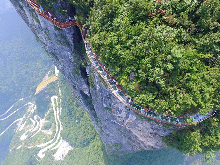glass walkway in china 2