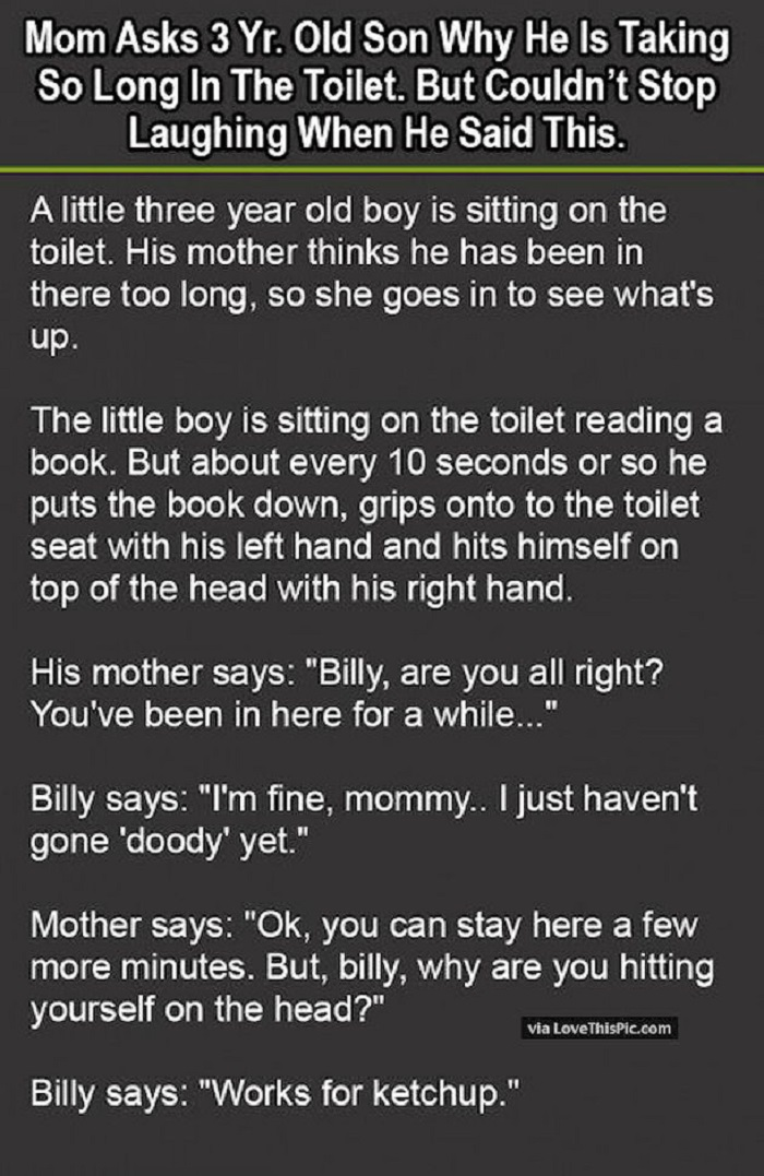 little boy toilet
