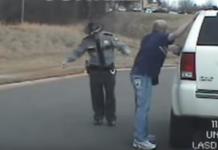 drunk cop thumb