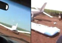 Cops Take Down Drugs Plane