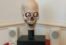 amazon echo skull