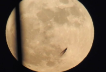 Moon UFO