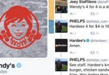 Wendy's Hardee's Twitter Beef (1)