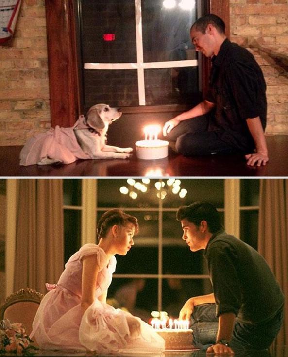 Sixteen Candles Reenacted