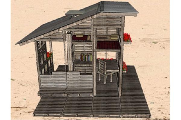 Pallet House Plans for Somalia