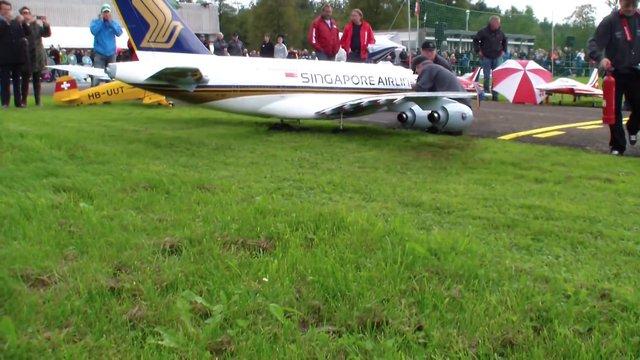 Huge Toy Plane