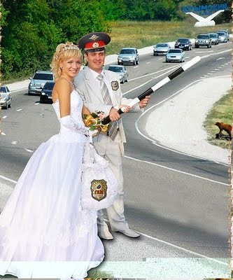 Road Wedding