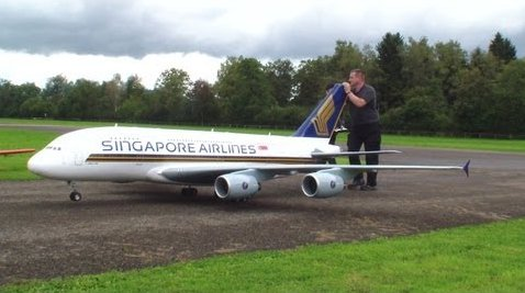 Enormous Toy Plane