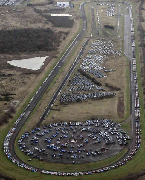 You Won't Believe Where The World's Unsold Cars Go To Die