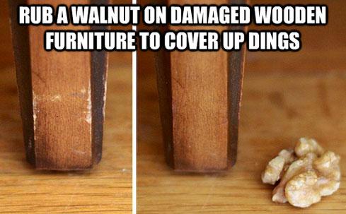 Walnut - life hack