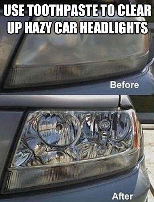 Headlights - life hack