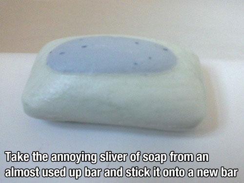 Soap - life hack