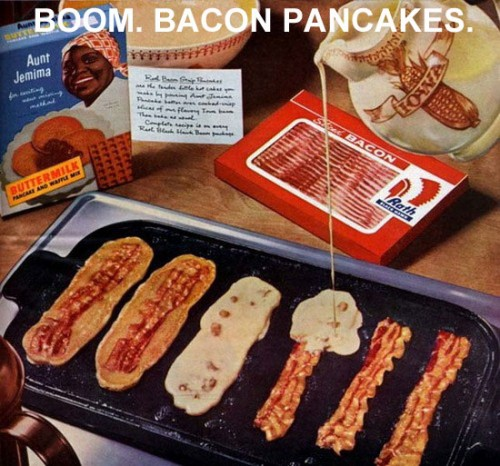 Bacon pancakes - life hack