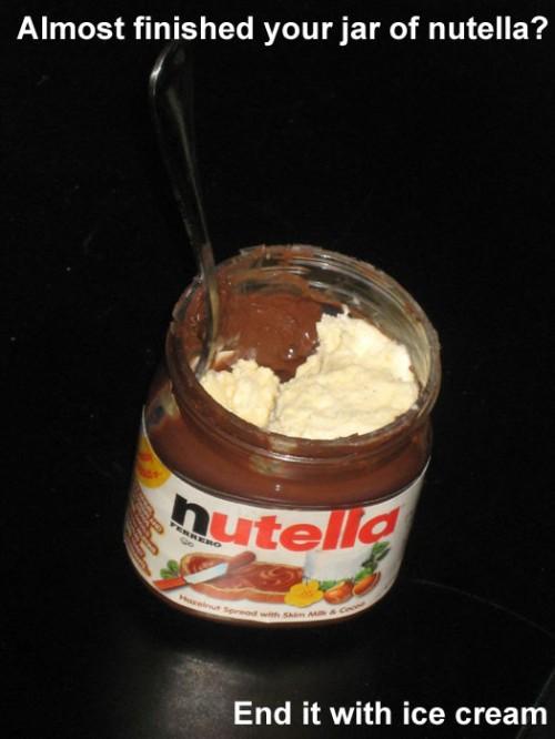 Nutella - life hack
