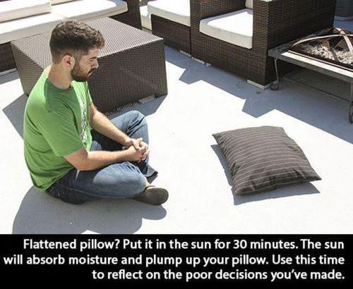 pillow-in-sun-life-hack