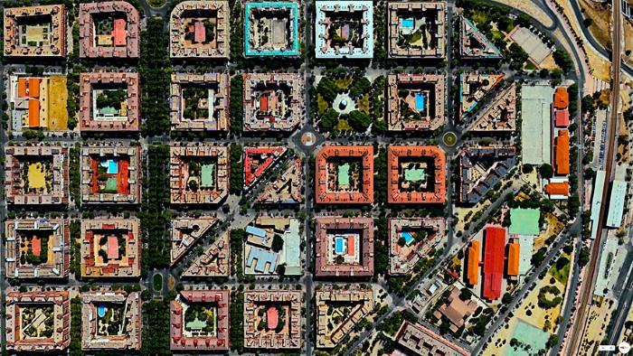 Madrid Aerial (Custom)